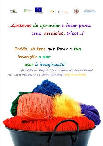 cartaz grupo tricot